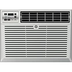 "GE AEM06LX 19"" Window Air Conditioner with 6050 Cooling BTU, Energy Star Qualified in Light Cool Gray"
