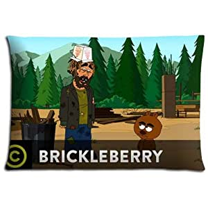 "20x30 20""x30"" 50x76cm sofa pillow cover cases Polyester and Cotton Inspirational Conveniently Brickleberry"