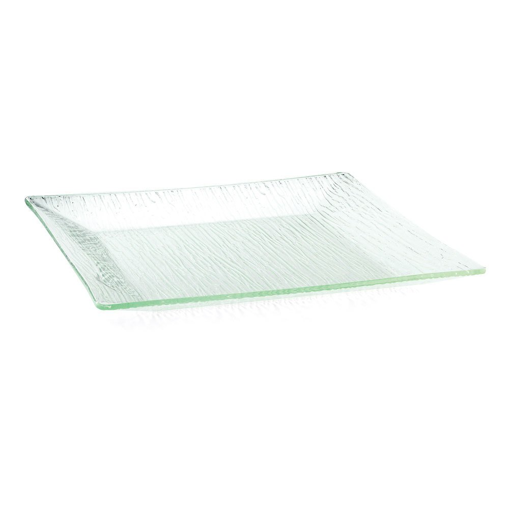 Tablecraft A1818 Cristal Collection Square Acrylic Tray - 18'' x 18''