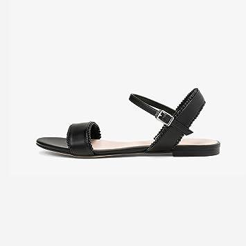 YQQ Zapatos De Playa Solo Zapato Femenino Zapatos Planos Tacones Bajos Zapatos Casuales Zapatos De Vacaciones