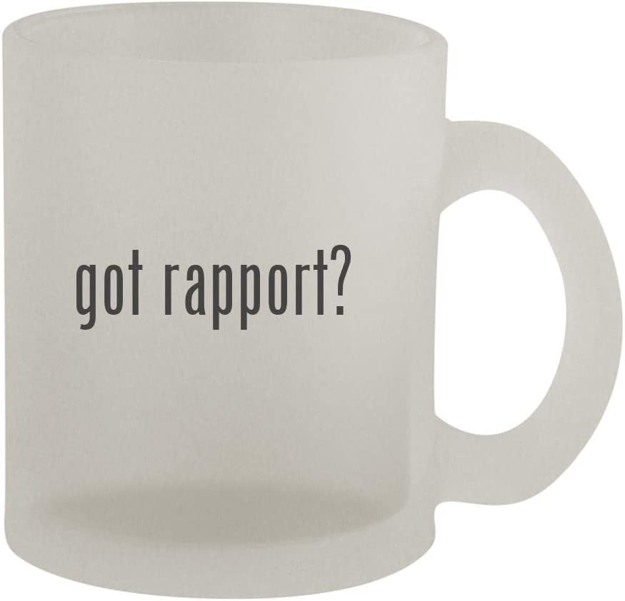 got rapport? - 10oz Frosted Coffee Mug Cup, Frosted