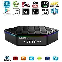 Kekilo M8S Plus Amlogic S812 4K 1000M Gigabit Lan Quad Core M8S+ Android 5.1 TV Box HDMI Dual Band Wifi 2G/8G Smart Media Player
