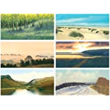 4fee1a7c754c Landscape collection x 6 - Beautiful selection of Six Blank Greeting Cards.