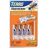 Terro 324 Ant Killer II Liquid Ant Baits Pack of 4 Stations