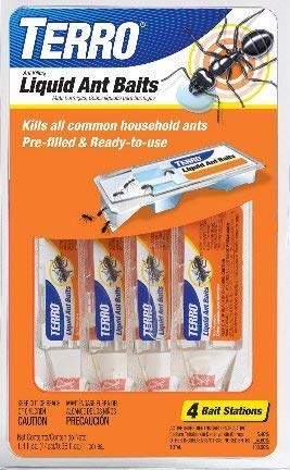 Terro 324 Ant Killer Ii Liquid Ant Baits, Pack of 4 ...