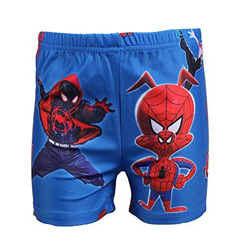 Cosplay Badmode Kledingstuk Kinderen Avenger Outdoor Spiderman Print Badpak Een Pak Zomer Strand Korte Shorts Zwemmen…