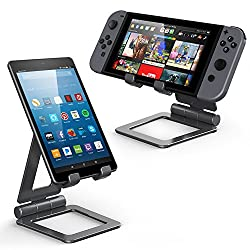 iPad Stand for Tablet Holders Adjustable iPhone Mobile Cell Phone Desk Stands