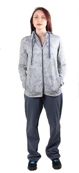 Zip Full Amazon Tuta 2xl Lady Champion Donna 110346 Grigioblu qpxwFF7nX