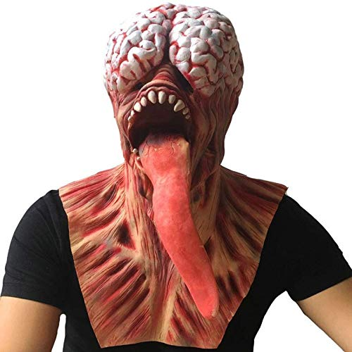 Party Masks - Halloween Adult Mask Latex Bloody