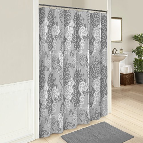 Cotton Hill Curtain (Marble Hill 16245SHWR072MUL Cheyanne 72-Inch by 72-Inch Shower Curtain, Multi)