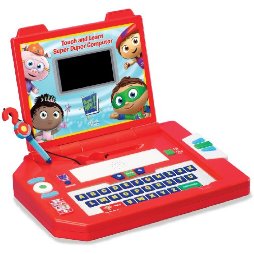 Learning Curve Brands Super Why - Touch and Learn Super Duper Computer -