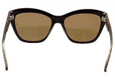 68609b497edc4 Gafas de sol Guess By Marciano GM0741 C56 05G (black other   brown mirror)   Amazon.es  Ropa y accesorios