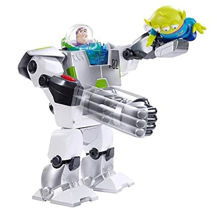 Amazon.com: Disney / Pixar Toy Story Exclusive To Infinity And Beyond Space Mission Action Figure Buzz Lightyear Turbo Suit: Toys & Games