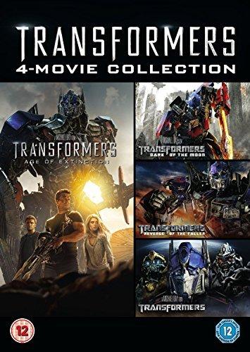Transformers 1-4 [DVD] by Shia LaBeouf: Amazon.es: Steven ...