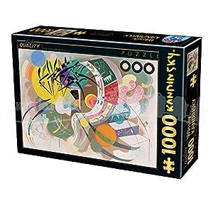 D Toys Puzzle 75925ka 06 1000 Pezzi Kandinsky Vassily Dominant Curve