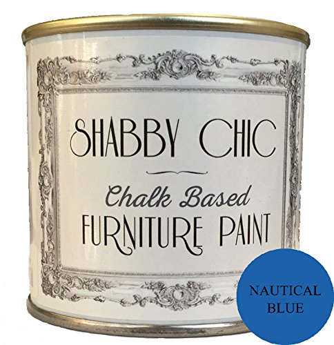 Nautical Azul tiza segú n Muebles Paint mucho para una Shabby Chic Estilo. 1  l Shabby Chic Furniture Paint
