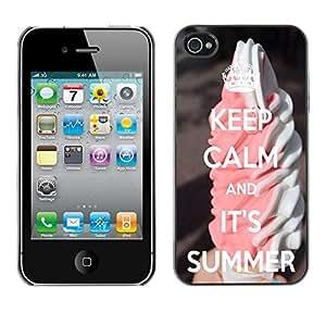 Dragon Case - FOR iPhone 4 / 4S - I don't like waiting - Caja protectora de pl??stico duro de la cubierta Dise?¡Ào Slim Fit