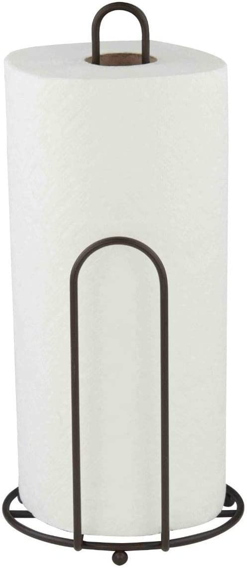 Home Basics Bronze Paper Towel Holder