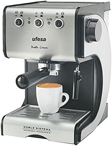 qtimber Cafetera Express de Brazo UFESA CE7141 1,5 L 15 bar 1050W ...