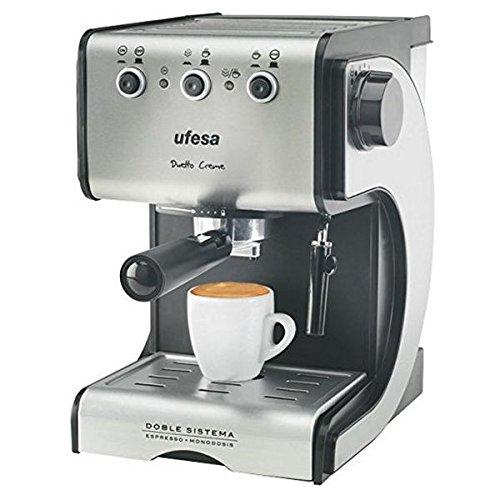 qtimber Cafetera Express de Brazo UFESA CE7141 1,5 L 15 bar ...
