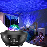 Galaxy Projector, Star Projector 3 in 1 Night Light Projector w/LED Nebula Cloud with Bluetooth Music Speaker