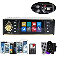 Iuhan New 4.1 Inch In-Dash Car Bluetooth Stereo Aux Input USB/SD/FM/MP5/BT/WMA/MP3 Radio Player