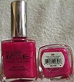 Bari Pure Ice Nail Polish, #308 Girly Girl (Dark Pink Shimmer) .5 Fl Oz