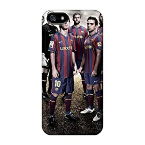 For FYU14369XbmE Fc Barcelona Team Sport Protective Cases Covers Skin/iphone 5/5s Cases Covers