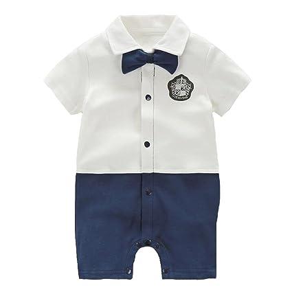 5772c9c56a065 エルフ ベビー(Fairy Baby)ベビー洋服フォーマル半袖 セレモニーロンパース 結婚式服 男の子