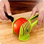 Best Utensils Tomato Slicer Lemon Cutter Multipurpose Handheld Round Fruit Tongs ABS Plastic Onion Holder Easy Slicing Fruits & Vegetable Tools Kitchen Cutting Aid Gadgets Tool 5 MADE IN CHINA: Unique design makes slicing fruits and vegetables more quickly and easily MULTI-PURPOSE: Conveniently designed slicing aid, perfect tool for any task in the kitchen, ideal for tomatoes, onions, lemon, citrus fruit & more! DURABLE & SAFETY: Made of 100% food grade Material, eco-friendly, durable in use. Clamp design, multifunctional, also couble be used as food tongs.