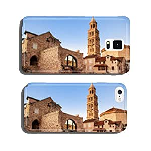 Scene from the old city of Split and the view of old bell tower cell phone cover case Samsung S5