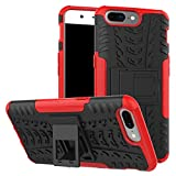 Oneplus 5 Case, NOKEA Dual-Layer [Soft TPU Interior] [Durable PC Exterior] Case For