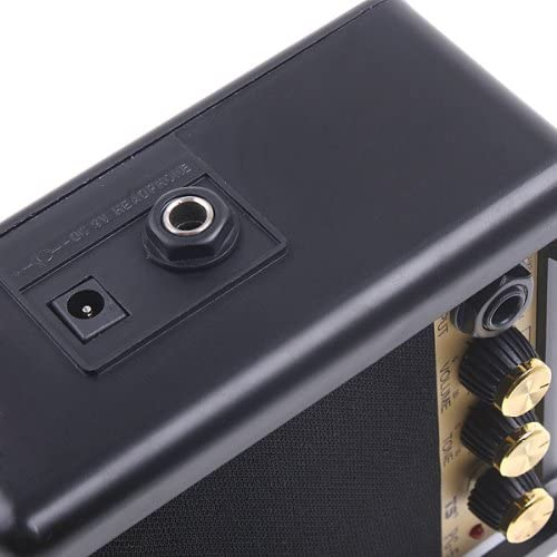 Andoer Electric Guitar Amp Amplifier Speaker Volume Tone Control PG-5 5W