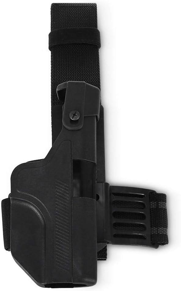 Vioaplem Se Adapta PDI KYDEX Pistolera: Glock 17 19 23 Pistola Fundas Oculta Pierna Bolsa De Transporte Armas Ocultación Caso