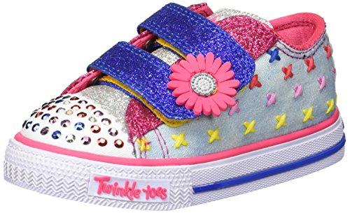 - Skechers Kids Girls' Shuffles Sneaker,Light Denim,12 Medium US Little Kid