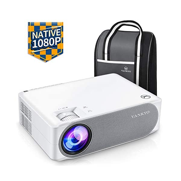 VANKYO Performance V630 Native 1080P Full HD Projector, 6500 LUX 300″ LED Projector...