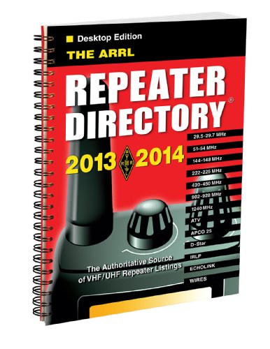 2013-2014 ARRL Repeater Directory Pocket sized