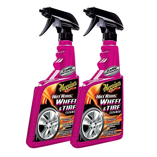 Meguiar's G9524 Hot Rims Wheel Cleaner - 24 oz. 2 Pack