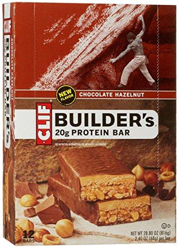 Clif Builder's Protein Bars - Chocolate Hazelnut - 2.4 oz - 12 ct