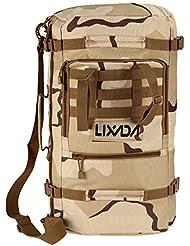 Lixada Multifunction Outdoor Military Tactical Backpack Hiking Camping Trekking Shoulder Bag 45L