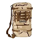 Lixada Multifunction Outdoor Military Tactical Backpack Hiking Camping Trekking Shoulder Bag 45L Review