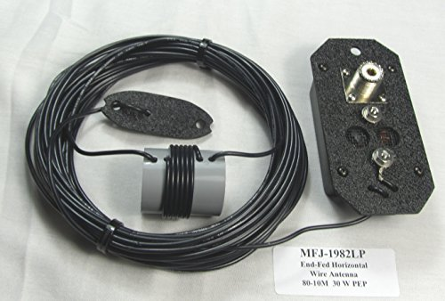 MFJ-1982LP EndFed 1/2 Wave 30W 80M-10M Wire Antenna