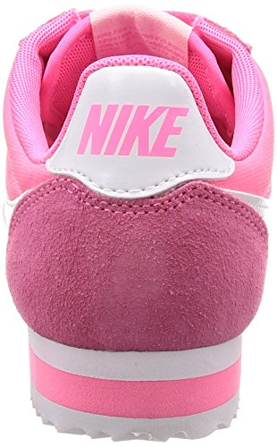 Pink White Cortez NIKE Multicolour Classic Laser Competition Women's Running Shoes Nylon 608 WMNS Ptnqtwvx6U