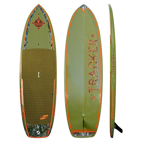 Boardworks Surf Tracker 11' Fishing Stand Up Paddleboard 11f