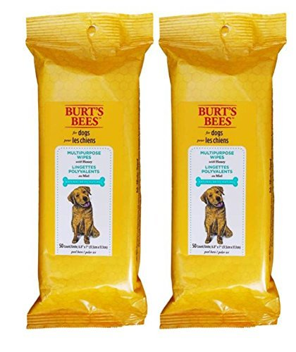 Burt's Bees For Dogs Multipurpose Wipes With Honey 50 Count - by Burt's Bees