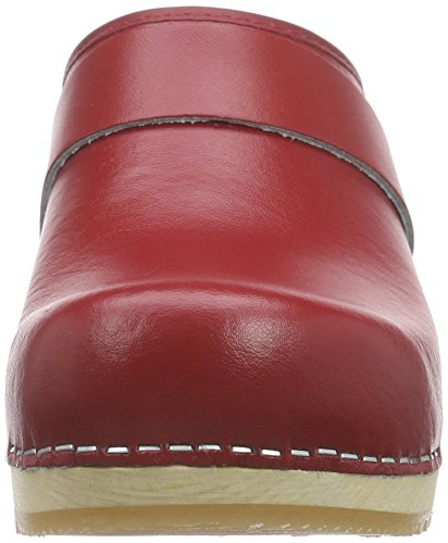 4 Clogs Rosso red Rita Open Sanita Women's 87Yxgg