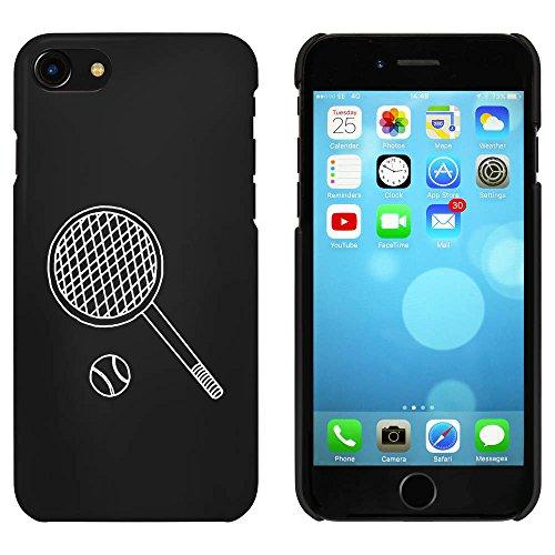 Noir 'Raquette de Tennis et Ballon' étui / housse pour iPhone 7 (MC00084588)