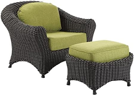 Amazon.com : Martha Stewart Living Lake Adela Charcoal Patio