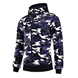 Product review for FZDX Hoodie Men's Slim Fit Long Sleeve Lightweight Full-Zip Hooded Sweatshirt Camouflage