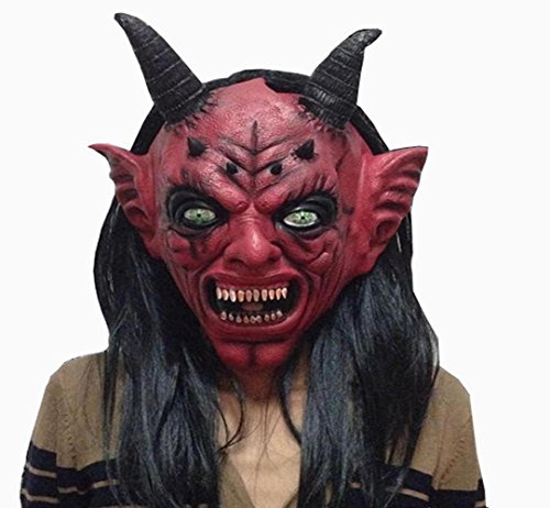 Leoy88 Bloody Horror Halloween Mask Costume Cosplay Carnival (Cute Celebrity Couple Halloween Costumes)